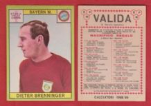 Bayern Munich Dieter Brenninger West Germany